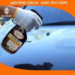 Dung dịch dưỡng bóng sơn xe PALLAS Spray Polish Wax 700ml, chai xịt dưỡng bóng sơn xe máy, làm nổi bật màu sắc sơn xe, wax dưỡng bóng bảo vệ mặt sơn xe máy, xe hơi, ô tô_P-0701
