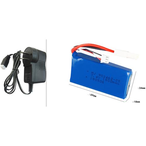 Combo pin sạc xe điều khiển từ xa 7.4v 1500 - 20021673 , 25219448 , 15_25219448 , 255000 , Combo-pin-sac-xe-dieu-khien-tu-xa-7.4v-1500-15_25219448 , sendo.vn , Combo pin sạc xe điều khiển từ xa 7.4v 1500