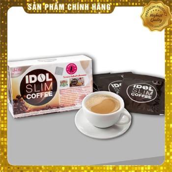 ComBo 2 HỘP CAFE GIẢM CÂN IDOL SLIM HIỆU QUẢ - 10 GÓI 1 Hộp