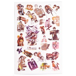 Sticker Anime Hình xăm - Attack On Titan [AAM] [PGN30]