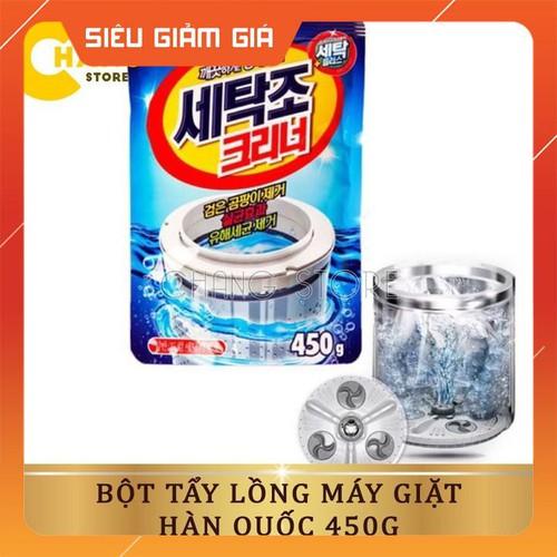 Bột tẩy vệ sinh lồng máy giặt 450g - 20020413 , 25218071 , 15_25218071 , 25100 , Bot-tay-ve-sinh-long-may-giat-450g-15_25218071 , sendo.vn , Bột tẩy vệ sinh lồng máy giặt 450g