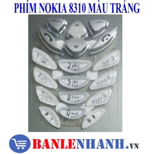 Phím điện thoại nokia 8310 màu trắng - 20035662 , 25235984 , 15_25235984 , 27000 , Phim-dien-thoai-nokia-8310-mau-trang-15_25235984 , sendo.vn , Phím điện thoại nokia 8310 màu trắng