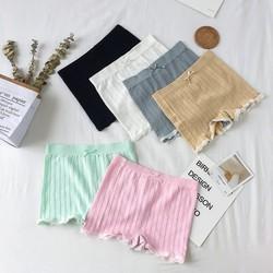 [MIEN PHI VAN CHUYEN]Bộ 03 quần lót nữ mặc trong váy viền ren, dệt kim FIRM