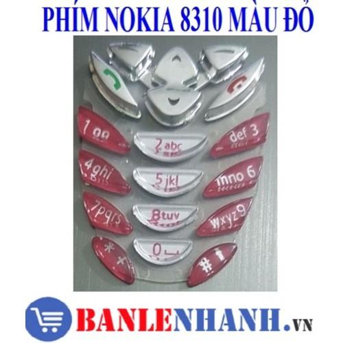 Bàn phím điện thoại nokia 8310 màu đỏ - 20036136 , 25236507 , 15_25236507 , 27000 , Ban-phim-dien-thoai-nokia-8310-mau-do-15_25236507 , sendo.vn , Bàn phím điện thoại nokia 8310 màu đỏ