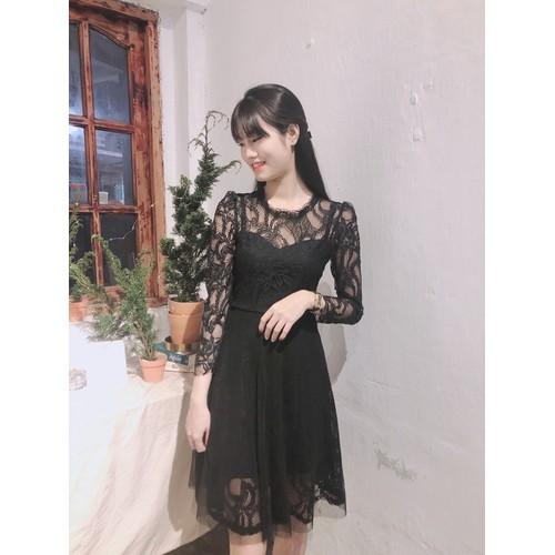 Đầm ren nữ