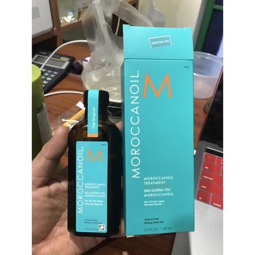 Tinh dầu dưỡng phục hồi tóc hư tổn khô xơ moroccanoil treatment oil 125ml