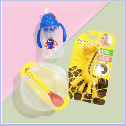 Combo 3 món 1 hươu 1 bát chống đổ kèm thìa báo nóng 1 cốc tập uống upass 150ml thái lan - 20036676 , 25237092 , 15_25237092 , 206400 , Combo-3-mon-1-huou-1-bat-chong-do-kem-thia-bao-nong-1-coc-tap-uong-upass-150ml-thai-lan-15_25237092 , sendo.vn , Combo 3 món 1 hươu 1 bát chống đổ kèm thìa báo nóng 1 cốc tập uống upass 150ml thái lan