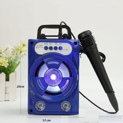 Loa karaoke mini tặng kèm 1 mic Sound Vis