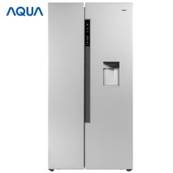 Tủ lạnh Side by side Aqua Inverter 557 lít AQR-I565AS-SW