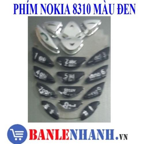 Bàn phím điện thoại nokia 8310 màu đen - 20035780 , 25236112 , 15_25236112 , 27000 , Ban-phim-dien-thoai-nokia-8310-mau-den-15_25236112 , sendo.vn , Bàn phím điện thoại nokia 8310 màu đen