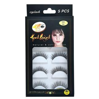 5 cặp lông mi giả tự nhiên Natural & Soft Eyelash số 16 - 1015 thumbnail
