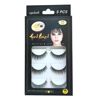 5 cặp lông mi giả cong Natural & Soft Eyelash - số 12 - 1061 thumbnail