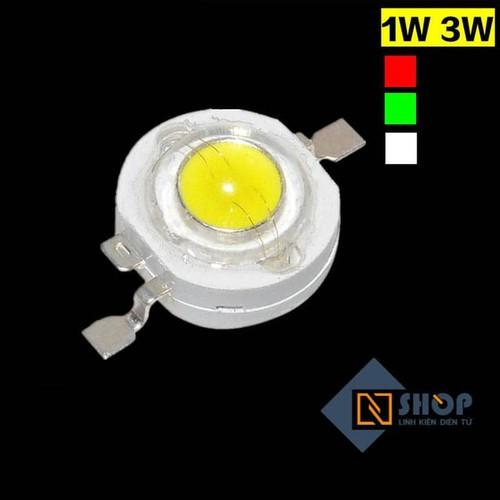 Led siêu sáng 3w ánh sáng trắng ấm