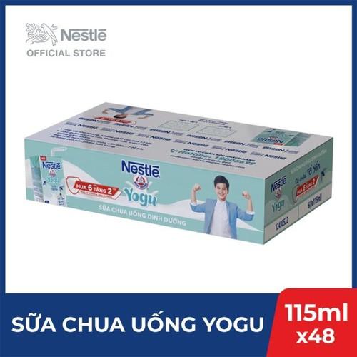 Thùng 48 hộp thực phẩm bổ sung sữa chua uống dinh dưỡng nestlé yogu - 12 lốc x 4 hộp x 115ml - 20050695 , 25253670 , 15_25253670 , 387000 , Thung-48-hop-thuc-pham-bo-sung-sua-chua-uong-dinh-duong-nestle-yogu-12-loc-x-4-hop-x-115ml-15_25253670 , sendo.vn , Thùng 48 hộp thực phẩm bổ sung sữa chua uống dinh dưỡng nestlé yogu - 12 lốc x 4 hộp x 11