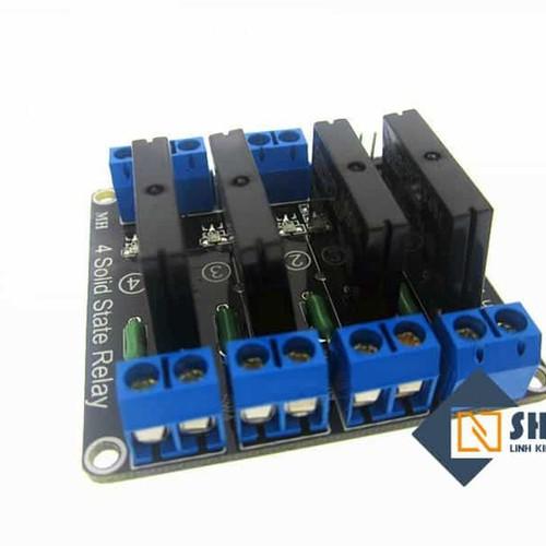 Module 4 relay rắn ssr 5vdc