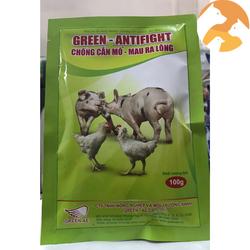Green Antifight [100 g] Thuốc cho gà chống cắn mỗ, mau ra lông