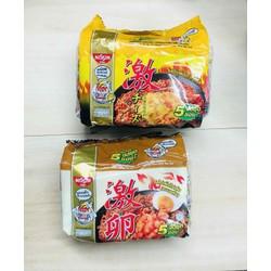 mì khô nissin trứng muối phomai