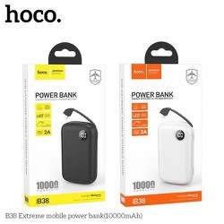 Pin sạc dự phòng kèm cáp sạc cổng Lightning Hoco B38 - dung lượng 10000mAh