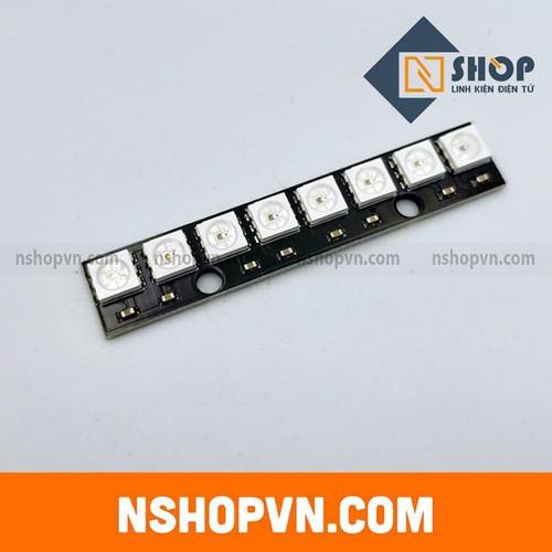 Mạch hiển thị neopixel 8 rgb led ws2812 thanh thẳng - 20051002 , 25253999 , 15_25253999 , 47000 , Mach-hien-thi-neopixel-8-rgb-led-ws2812-thanh-thang-15_25253999 , sendo.vn , Mạch hiển thị neopixel 8 rgb led ws2812 thanh thẳng