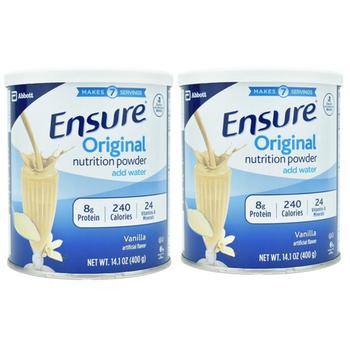 Combo 2 lon Sữa Ensure Original Xách Tay sua bot ensure xuất xứ Mỹ 400g mẫu mới date 06.2021