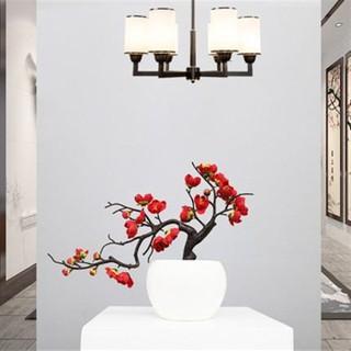 Hoa giả, cành đào bonsai trang trí nhà cửa - Chưa bao gồm chậu - canhdaobonsai thumbnail