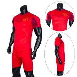 Đồ bộ quần áo thể thao bóng đá nam Việt Nam 2020 Thời trang Everest - Thun dày đẹp