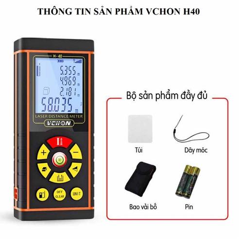 Thước đo khoảng cách laser,thước đo khoảng cách bằng tia laser phạm vi 40m, máy đo khoảng cách laser đa năng , thước đo khoảng cách laze giá rẻ hơn 206764