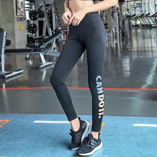 Đồ tập gym yoga quần legging tập gym yoga cạp cao quần thể thao legging co dãn