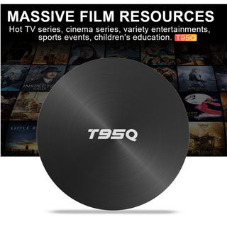 TVBOX Siêu mạnh 4K T95Q-Max 4G RAM 64G ROM Chip - T95Q Android 8.1 u thumbnail