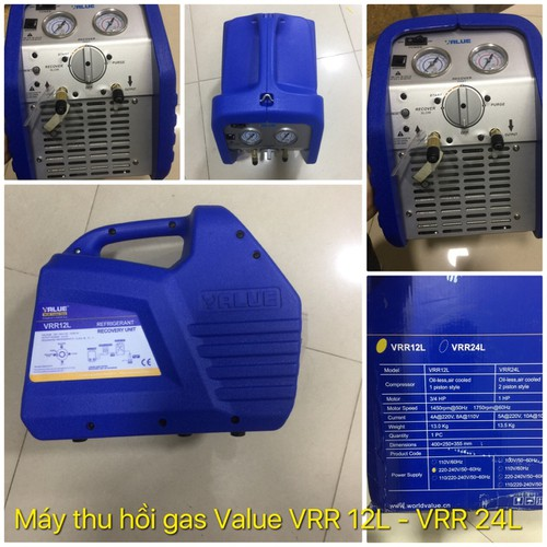 Thiết bị thu hồi gas lạnh value model: vrr12l - 20057214 , 25261334 , 15_25261334 , 12000000 , Thiet-bi-thu-hoi-gas-lanh-value-model-vrr12l-15_25261334 , sendo.vn , Thiết bị thu hồi gas lạnh value model: vrr12l
