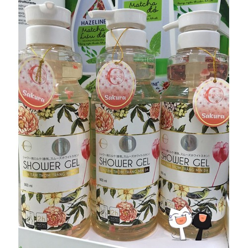 Sữa tắm shower gel hương nước hoa 900ml
