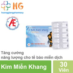 COMBO 3 Kim Miễn Khang – Điều hòa hệ miễn dịch, hỗ trợ điều trị lupus ban đỏ