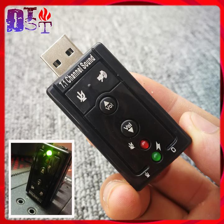 USB Sound 7.1 - Sound Card - Âm Thanh Chuẩn Cực Chất - 7.1