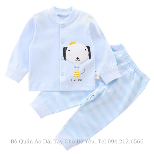 Bộ quần áo trẻ em dài tay cho bé yêu