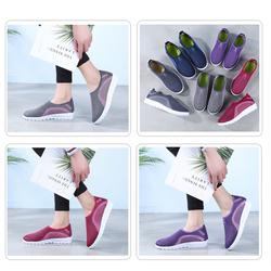 Giày sneaker Nữ Cá Tính Hot Trend 2020 Thời Trang lười V 3 màu