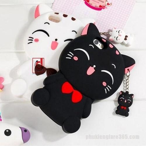 Ốp lưng mèo đen iphone 4-4s, 5-5s, 6-6s, 6-6s, 7-8, 7-8 plus