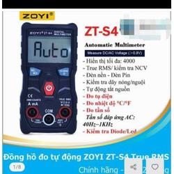 Đồng Hồ Đo Tự động - ZOYI  S4