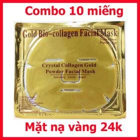 Mặt nạ tinh thể vàng 24K Pháp - Mặt nạ vàng 24k 10c