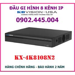 Đầu ghi hình 8 kênh KBVISION KX-4K8108N2