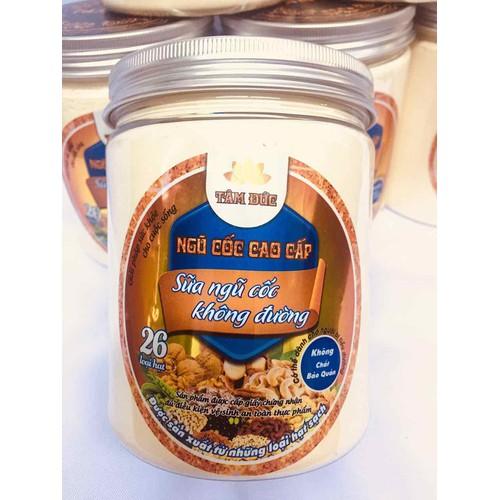 Sữa ngũ cốc 26 loại hạt không đường -1hũ 500gr