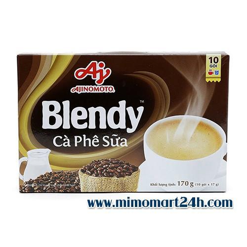 Cà phê sữa ajinomoto blendy hộp 170g - 20062267 , 25267518 , 15_25267518 , 30000 , Ca-phe-sua-ajinomoto-blendy-hop-170g-15_25267518 , sendo.vn , Cà phê sữa ajinomoto blendy hộp 170g
