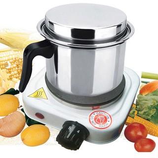 Bếp Điện Đun Nước Pha Trà cafe - BẾP ĐIỆN 500W MÀU TRẮNG - 1 thumbnail