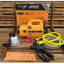Máy rửa xe BOSS 2300w 120bar tặng bình bọt tuyết