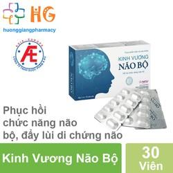 COMBO 3 Kinh Vương Não Bộ - Hỗ trợ chức năng não bộ, bảo vệ thần kinh, hoạt huyết dưỡng não, giảm thiểu năng tuần hoàn não