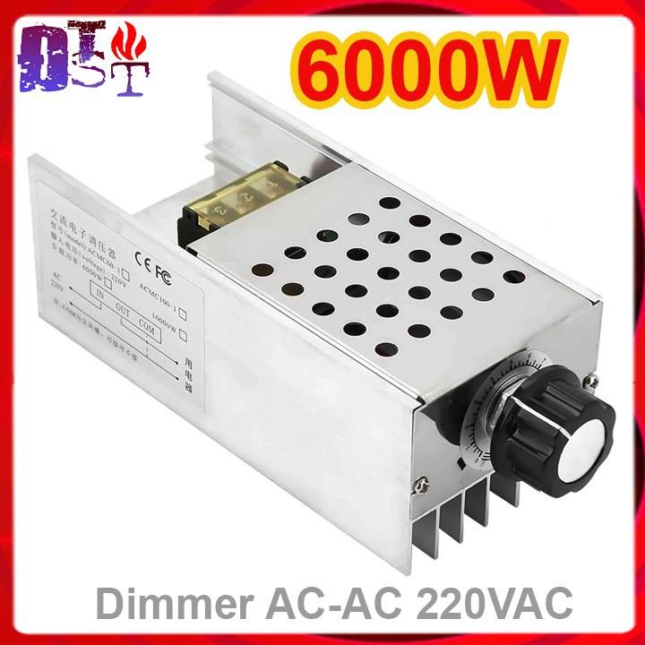 Dimmer AC-AC 220VAC 6000W