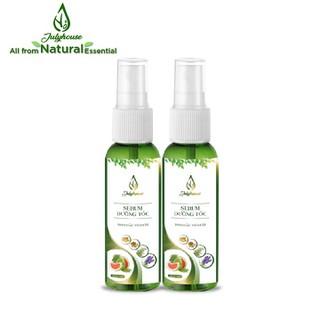 Bộ 2 chai serum dưỡng tóc tinh dầu Vỏ Bưởi 38ml JULYHOUSE - bo2srvb38ml thumbnail