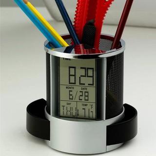 Hộp Đựng Bút Có Đồng Hồ loại tốt - hộp đựng bút có đồng hồ thumbnail