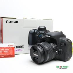 Máy ảnh Canon EOS 800D + Kit 18-55mm