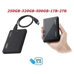 Ổ cứng di động ORICO 250GB 320GB 500GB 1TB 2TB – USB 3.0