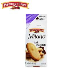 BÁNH QUY SOCOLA ĐEN MILANO DARK CHOCOLATE PEPPERIDGE FARM 170 GRAM